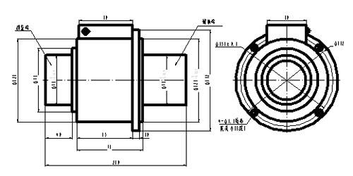 HX-913空心轴扭矩传感器