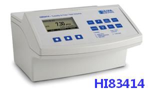 哈納(HANNA)HI83414高精度多量程多用途濁度/余氯/總氯分析測定儀